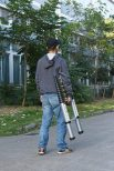 Telescoping Outdoor Ladder