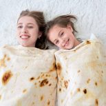 Burrito Throw Blanket