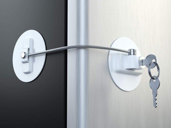 Refrigerator Door Lock