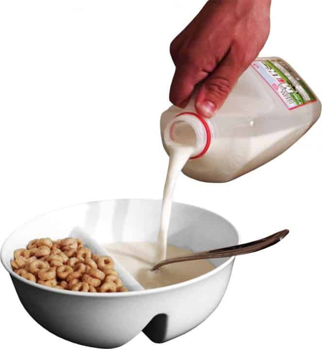 Anti-Soggy Cereal Bowl