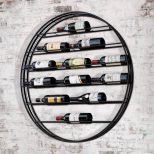 Circular Wine Rack
