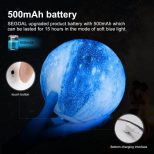Galaxy 3D Moon Lamp