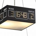 Ice Hockey Rink Pendant Light