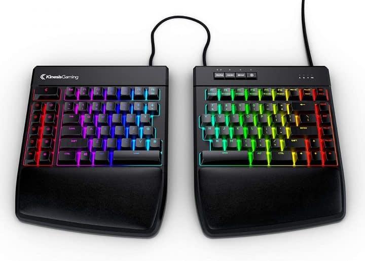 Split Gaming Keyboard