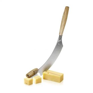 Curved Cheese Knife Slicing Cheese