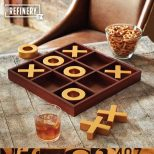 Solid Wood Tic-Tac-Toe