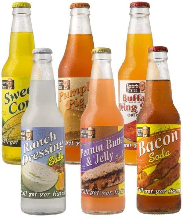 Crazy Flavored Soda