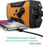 Recharges small electronic devices