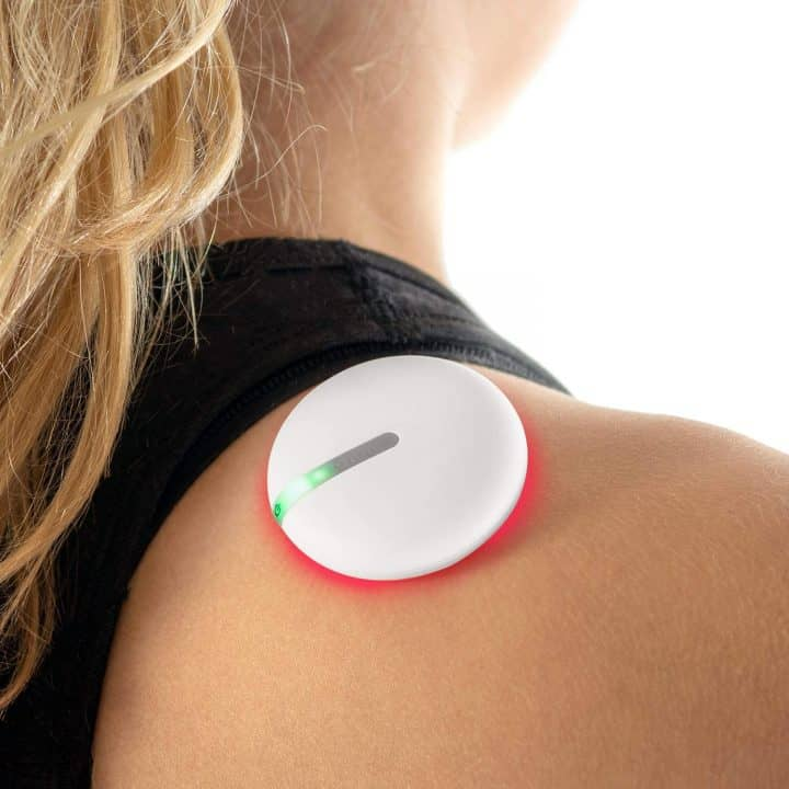 Pain Relieving Device on shoulders