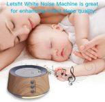 White Noise Sleep Machine lulls babies to sleep