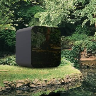Studypod in backyard