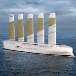 Wind-Powered Cargo Vessel