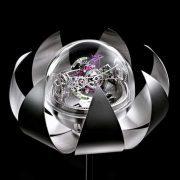 Lotus Triple-Axis Tourbillon Clock