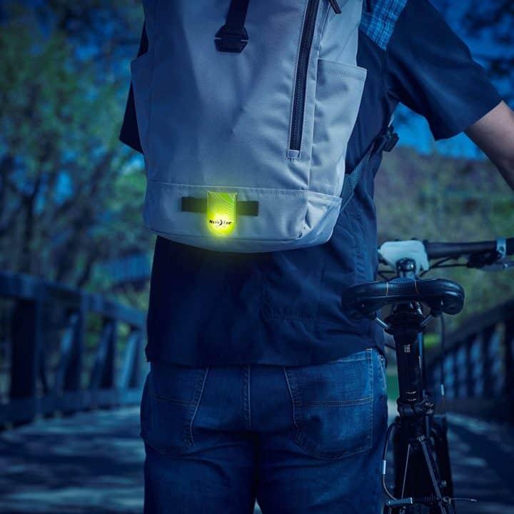 Flashing LED Pedestrian Safety Light
