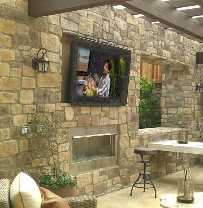 TV Shield Outdoor TV Enclosure Cabinet