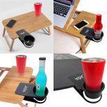 Table Desk Side Clip Drink Holder2
