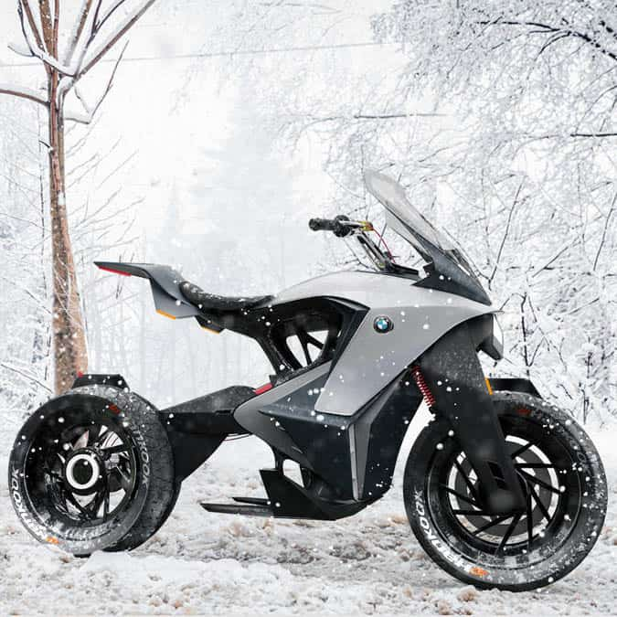 BMW Electric Adventure Motorcycle Concept