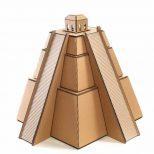 Mayan Pyramid Cardboard Cat House3