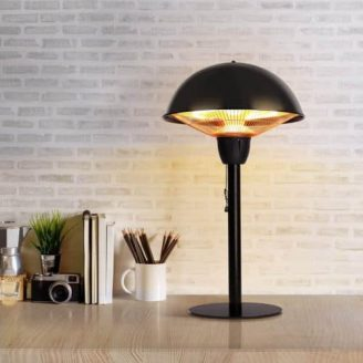 Outdoor Tabletop Infrared Heat Lamp