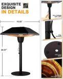 Outdoor Tabletop Infrared Heat Lamp2