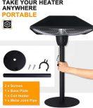 Outdoor Tabletop Infrared Heat Lamp3
