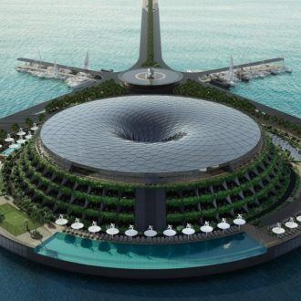 Spinning Floating Luxury Resort