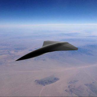 The Arrow Supersonic Combat Drone