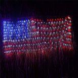 Giant American Flag String Lights4