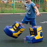 Giant Inflatable Bouncy Shoes 2