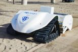 BeBot is a RC Robot that Can Clean 3,000 sqm of Beach in an Hour